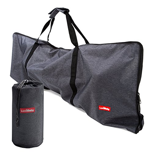 Premium Umbrella Stroller Bag for Airplane Gate Check In - Travel Cover Denim (Stroller Premium Travel)