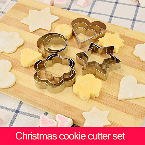 Cookie Cutters Set - Cookie Cutters Mini Geometric