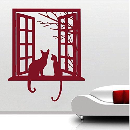 Cheap  Cat Looking From Window Design Home Art Décor Decal Mural Wall Sticker..