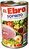 El Ebro Sofrito Seasoning with Ground Ham & Bacon 15oz 8 Pack