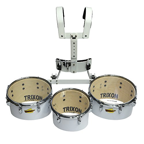 Trixon Field Series Pro Marching Toms - Set of 3 - White by Trixon Drums