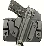 Beretta 92/96 Hybrid Holster IWB Right Hand Black by Everyday Holsters Tuckable Adjustable Retention