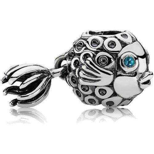 Pandora Angel Fish Silver Charm