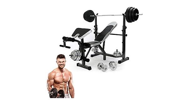 Alterdj: pesas plegables para entrenamiento, entrenamiento, entrenamiento, entrenamiento de mancuernas, abdominales, piernas, entrenamiento, gimnasio, ...