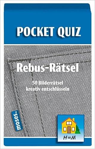 Pocket Quiz Rebus-Rätsel: 50 Bilderrätsel kreativ entschlüsseln ...