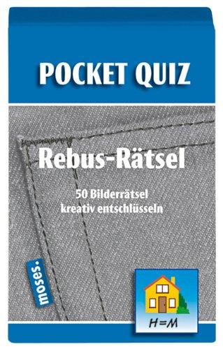 Pocket Quiz Rebus-Rätsel: 50 Bilderrätsel kreativ entschlüsseln