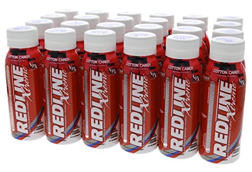 VPX Redline Xtreme RTD Cotton Candy 6 – 4 packs of 8 fl oz Bottles