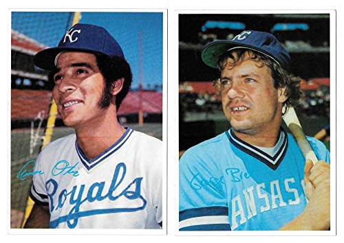 - 1980 Topps Super (5x7) White Backs - KANSAS CITY ROYALS Team Set