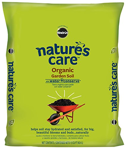 Miracle-Gro 71959127 Nature's Care Organic Garden Soil with Water Conserve (currently ships to select Northeastern...