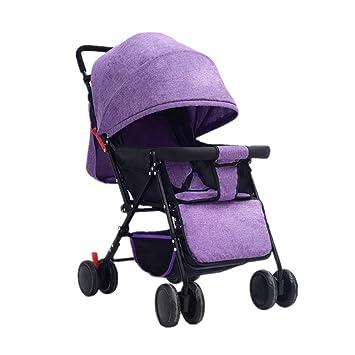 Carro De Bebé Recién Nacido Trolley Para Bebé El Bebé Puede Sentarse ...