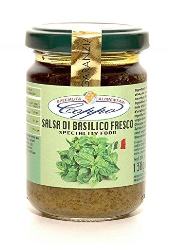 Coppo Specialità Alimentari -Salsa di Basilico ligure fresco (130gr)