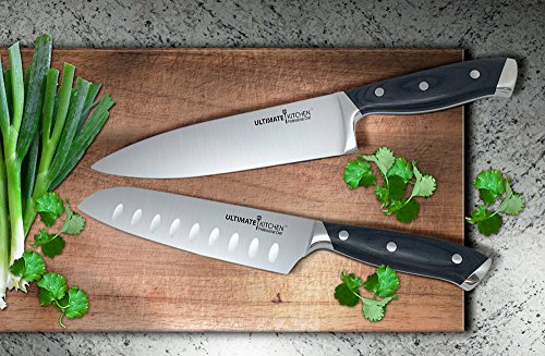 Ultimate KitchenTM Professional Santoku Custom product image
