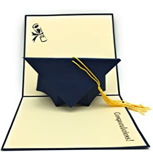 HANDMADE GRADUATION CAP POP UP CARD