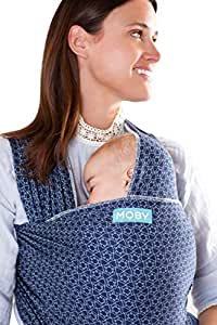 Moby Wrap Baby Carrier   Evolution   Baby Wrap Carrier for Newborns & Infants   #1 Baby Wrap   Go to Baby Gift   Keep baby safe & secure   Adjustable for all body types   Perfect for Mom & Dad   Batik