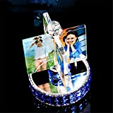 SJMM Photo Customized Custom Made Ornaments, Crystal Rotary Windmill, Christmas Girlfriend Birthday Gift,A1
