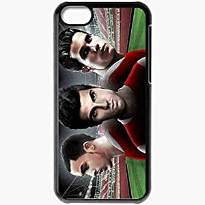 Personalized iPhone 5C Cell phone Case/Cover Skin ARSENAL Robin Van Persie Cesc Fabregas Theo Walcott Arsenal Football Black