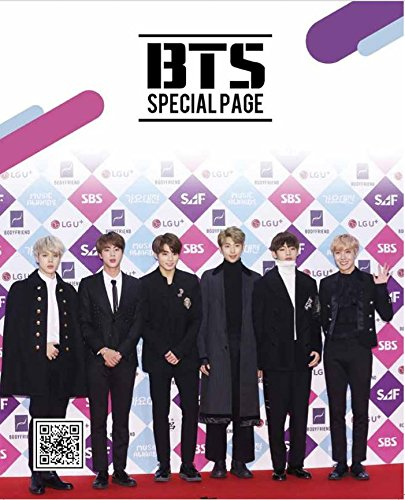 BTS Bangtan Boys Special KPOP Photo Magazine Monsta-X w