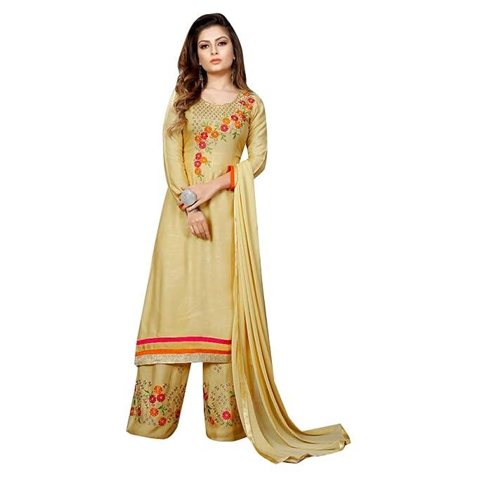 Amazon.com: Vestido indio de fiesta de algodón rayón bordado ...