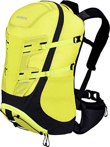 Shimano Hotaka Backpack 26L lime yellow 2017 Rucksack