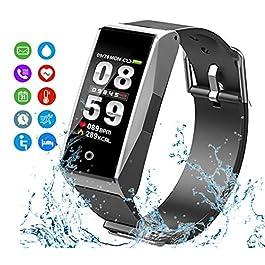MATEYOU Fitness Tracker, Smart Watchs Color Screen Activity ...
