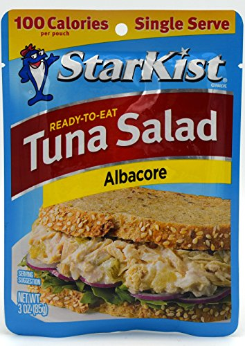 StarKist Tuna Salad, Albacore, 3-Ounce Pouch (Pack of 6) (Starkist Albacore)