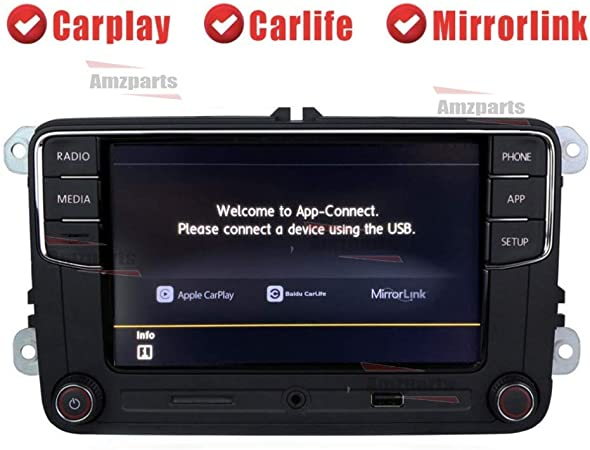 Amzparts RCD330 RCD330G Plus CarPlay App 6.5