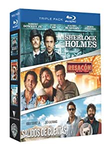 Sherlock Holmes + Resacon En Las Vegas + Salidos De