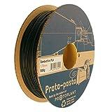 Proto-pasta CDP11705 Electrically Conductive Carbon Spool , PLA Composite 1.75 mm, 500 g , Black
