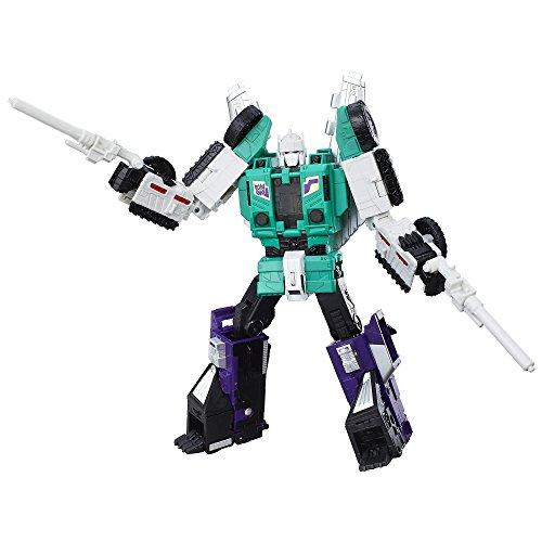 Transformers Generations Titans Return Six Shot and Decepticon Revolver