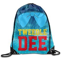 Tweedle Dee Cool Drawstring Travel Sports Backpack