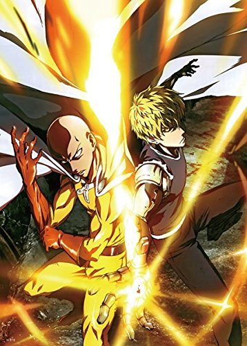 Anime-One-Punch-Man-High-Grade-Glossy-Laminated-Poster