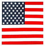 2ND DATE Classic Cotton Bandana - Assorted Styles and Colors-USFLAG-OS