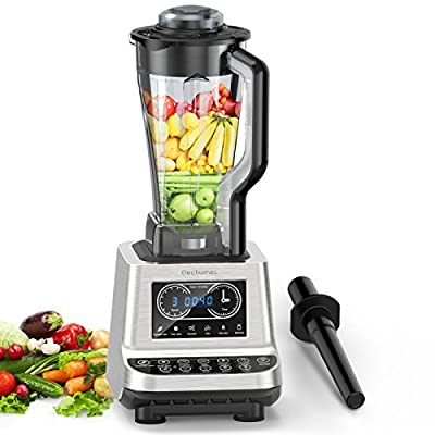 1600W Commercial Blender - Elechomes High-Speed Blender/Mixer System, Smoothie Blender, Blender for Soup, 30,000RPM, Heavy Duty Food Processor for Ice, Soup, Mincemeat, Nut Butter with 2L Tritan Jar