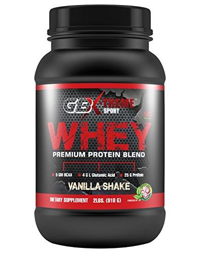 Go Sport Xtreme lactosérum Premium vanille protéiné 2lbs