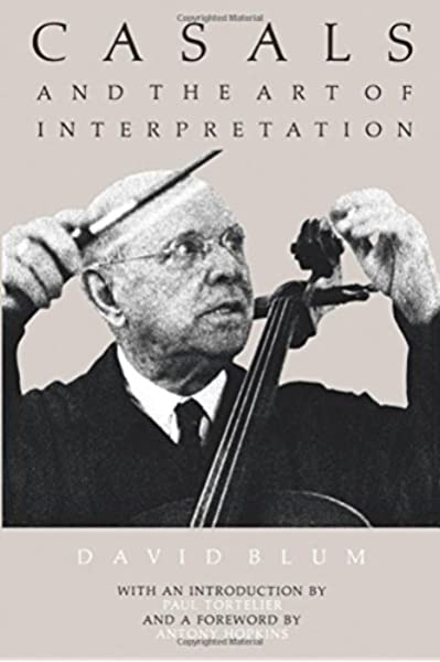 Casals and the Art of Interpretation: Amazon.es: Blum, David: Libros en idiomas extranjeros