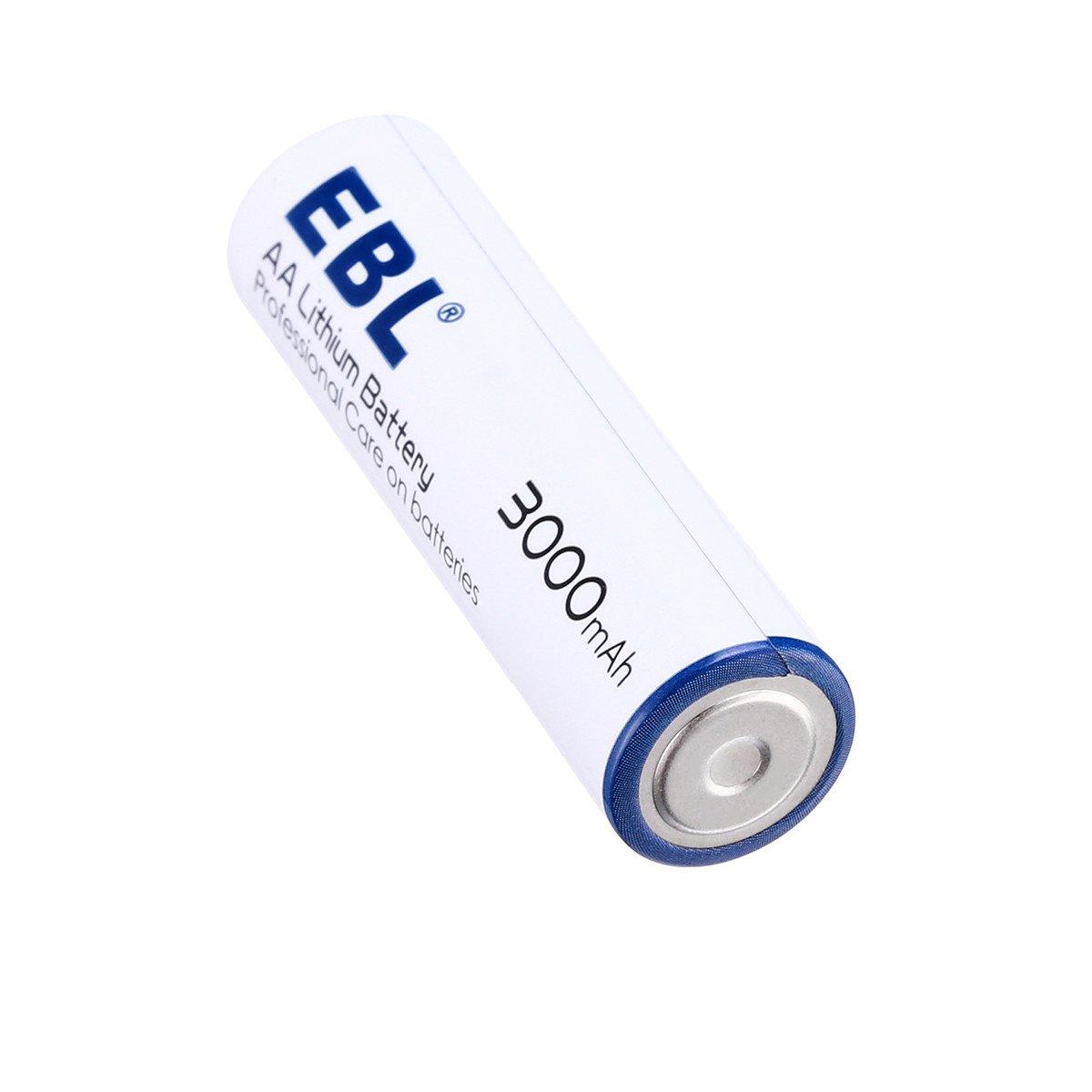 EBL Haltbarkeit AA 1.5Volt Lithium Batterien 8 Stück