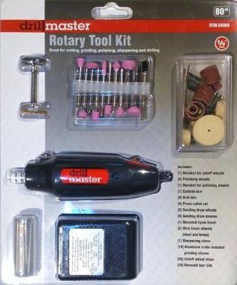 Rotary Tool Kit - 80 Pc