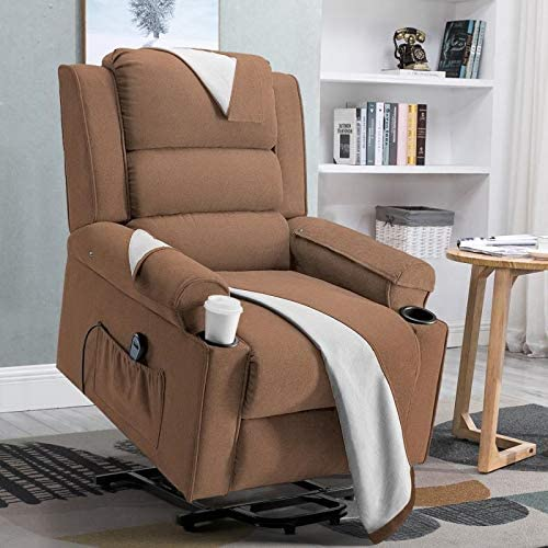 Vitesse Electric Power Lift Recliner Chair Sofa PU Leather Home Recliner