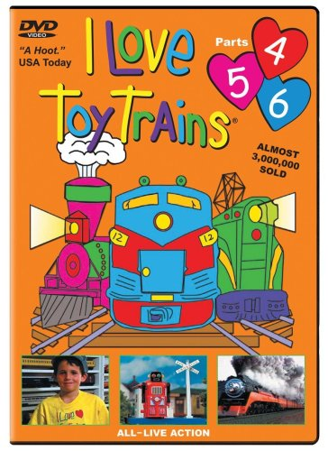 I Love Toy Trains, Parts 4-6 (Love Trains Store Toy)