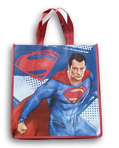 Justice League Superman Tote Bag - 12.5 x 13