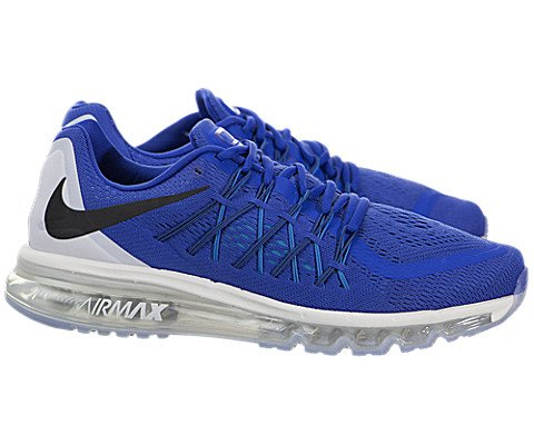 new arrival f353e 5ecd8 Galleon - Nike Mens Air Max 2015 Running Shoes Game Royal White Blue Lagoon  698902-400 Size 10
