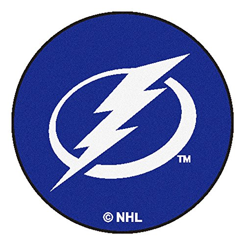 Fanmats NHL Tampa Bay Lightning Nylon Face Hockey Puck ()