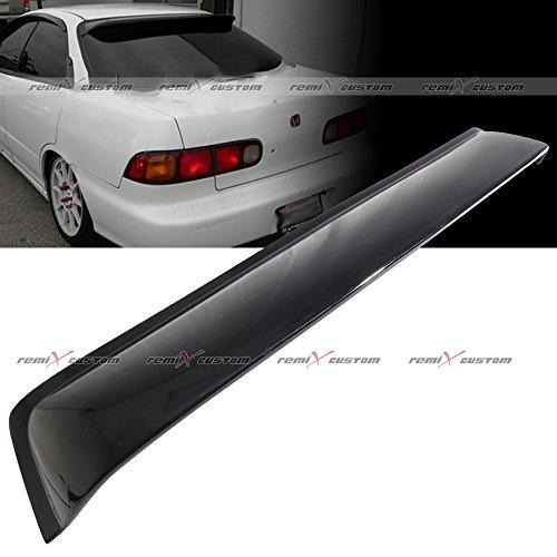 - Remix Custom 94-01 Acura Integra 4 Door Sedan Rear Roof Window Guard Visor Spoiler Wing