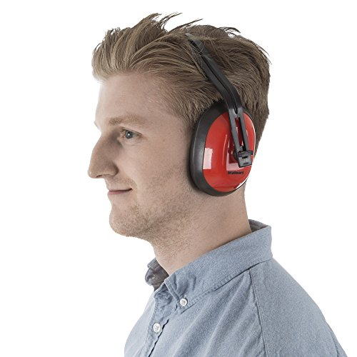 Safety Ear Muffs for Hearing Protection, Adjustable With 26 DB Noise Reduction By Stalwart (For Shooting Ranges, Mowing, Hunting and Construction) by Stalwart (Image #3)
