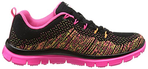skechers SKECH APPEAL - TALENT FLAIR - Zapatillas de deporte para niña Black (Black Multi)