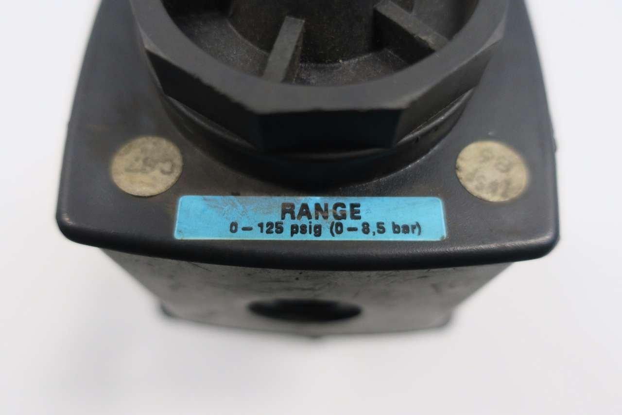 WILKERSON R28-06-F000 0-125PSI 300PSI 3//4 IN NPT PNEUMATIC REGULATOR D548535