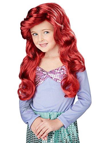 Paper Magic Group Magical Mermaid Auburn Wig - Kids OSFM (Mermaid Wig In Blonde)