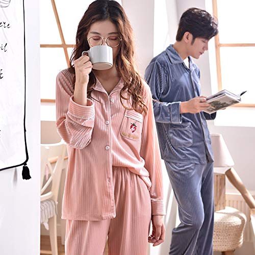 30 65kg Long 162cm And Service 50kg 58 Autumn Set Island Pajamas Fleece M150 Sleeve 168cm Cardigan Flannel Home Pajamasx Xl162 Coral Winter Women's aEBwvxqT
