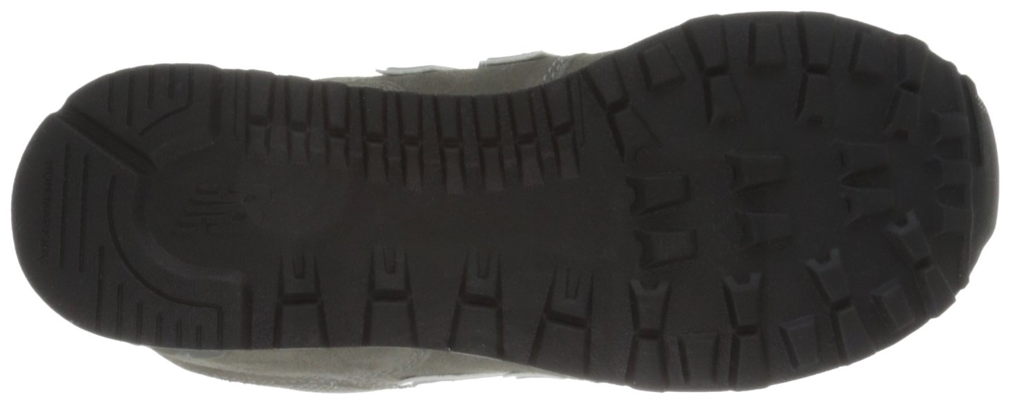 New Balance KL574 Grade Running Shoe (Big Kid), Grey/Silver, 4.5 M US Toddler by New Balance (Image #3)
