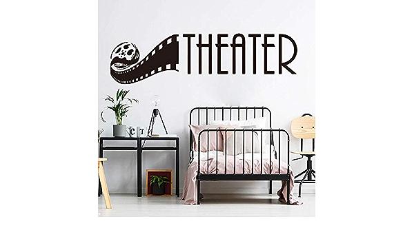 N213 Drama Cinema Masks Film Wall Stickers Bedroom Girls Boys Kids Room